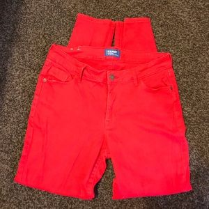 Old navy rockstars red size 10